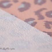Tissu french terry coton motif léopard - Oeko-Tex ® Autres marques - Tissus et mercerie - 3