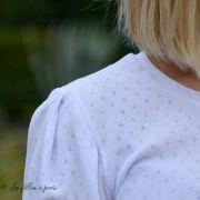 Tissu jersey ajouré knitwear fantasy - Oeko-Tex ® - Stenzo Textiles ®