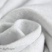 Tissu coton flammé