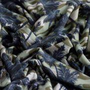 Tissu jersey motif camouflage