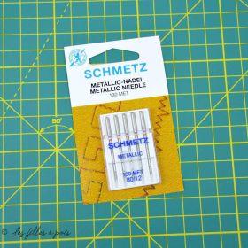 Aiguilles SCHMETZ® metallic 130/705H-MET 90/14