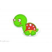 Écusson tortue - Vert - Thermocollant