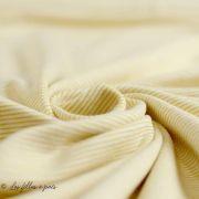 Tissu jersey coton motif rayure