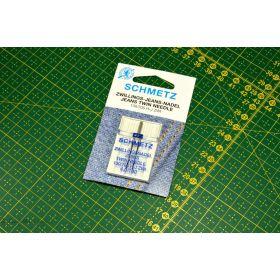 Aiguilles SCHMETZ® jean's double 4mm 100
