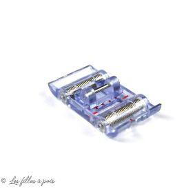 Pied de biche machine à coudre rouleaux transparent PFAFF ®