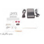 Machine à coudre électronique JAGUAR 596 - lot de bord et accessoires