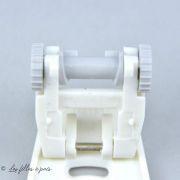 Pied de biche machine à coudre pose élastique Husqvarna Viking - 2