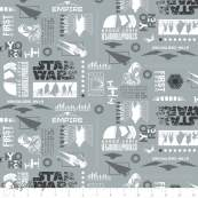 Tissu coton STARWARS ™ Camelot Fabrics ® - Tissus - 1