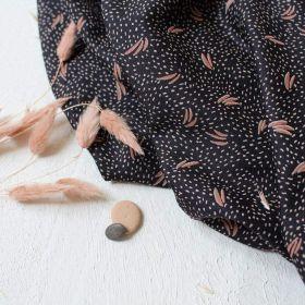 Tissu crêpe de viscose Dune Night - Atelier Brunette ®