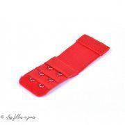 Rallonge soutien-gorge élastique 2 crochets - 32mm / 95mm - 5