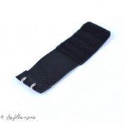 Rallonge soutien-gorge élastique 2 crochets - 32mm / 95mm - 2