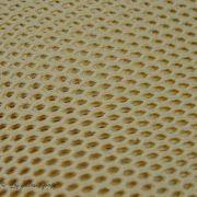 Tissu filet maille coton - Ecru - Bio