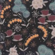 "Tissu coton motif fleurs ""Belinda's Herb"" - Henry Alexander ®"