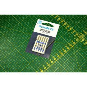 Aiguilles jeans machine à coudre 90-110 (14-18) - Schmetz ®