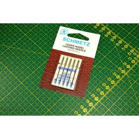 Aiguilles cuir machine à coudre 80-100 (12-16) - Schmetz ®