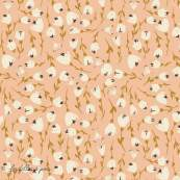 "Tissu popeline de coton motif fleurs ""The Open Road"" de Bonnie Christine - Oekotex - AGF ®"