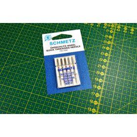 Aiguilles universelles HDK enfilage simplifié machine à coudre - Schmetz ® SCHMETZ ® - 1