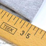 Bord côtes jersey tubulaire - 25cmx70cm  - Oeko-Tex ®  - 17