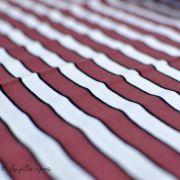 "Tissu french terry coton motif rayures ""All Over"" - Rouge et blanc -Oeko-Tex ® - Stenzo Textiles ® Stenzo Textiles ® - 3"