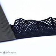 Élastique festonné résille lingerie - 2