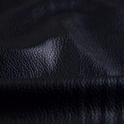 Tissu simili cuir - Noir
