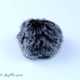 Pompon fourrure synthétique - 60mm
