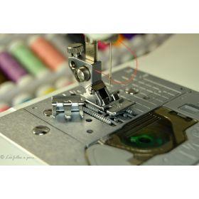 Pied de biche fermeture éclair et passepoil métal PFAFF compatible IDT