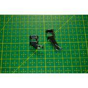 Pied de biche machine à coudre fermeture éclair et passepoil pour support 2mm et oblique - 3