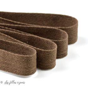 Cordon ruban sergé coton - 20mm - 1