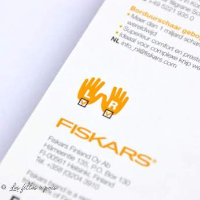 Ciseaux Fiskars ® précision lames courbées - 10cm Fiskars ® - 5