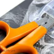 Ciseaux Fiskars ® précision lames courbées - 10cm Fiskars ® - 3