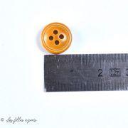 Boutons résine imitation cuir - 11.5mm - Lot de 10 - 2