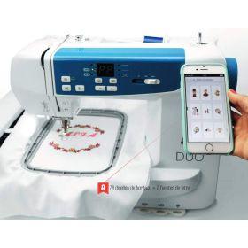 Machine à coudre et a broder ALPHA DUO - ALFA ALFA ® - Machines à coudre, à broder, à recouvrir et à surjeter - 1