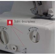 Surjeteuse 8708 - ALFA ALFA ® - Machines à coudre, à broder, à recouvrir et à surjeter - 5