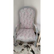 Tissu french terry coton motif fleur - Oeko-Tex ® Autres marques - 17