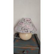 Tissu french terry coton motif fleur - Oeko-Tex ® Autres marques - 18