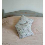 Tissu french terry coton motif fleur - Oeko-Tex ® Autres marques - 19