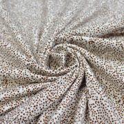 "Tissu jersey coton motif tâche ""Maruti"" - Marron - Oeko-Tex ®"