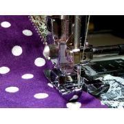 Pied de biche machine à coudre couture bord à bord