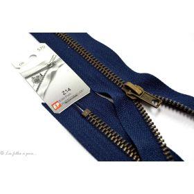 Fermeture Eclair ® Spécial jeans - maille laiton - Oeko-Tex ®