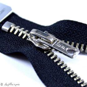 Fermeture Eclair ® Spécial jeans - maille argent - Oeko-Tex ®