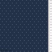 Tissu jersey coton motif pois esprit plumetis - Oekotex Autres marques - 4