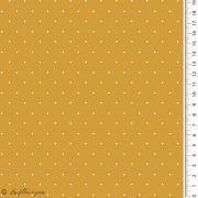 Tissu jersey coton motif pois esprit plumetis - Oekotex Autres marques - 6