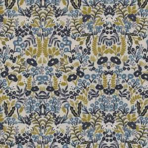 "Tissu coton motif fleuri ""Menagerie"" - Cotton and steel ® Cotton + Steel Fabrics ® - Tissus - 1"