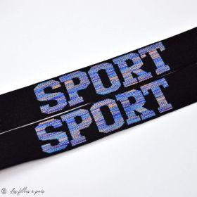 """Elastique caleçon boxer """"SPORT"""" - 32mm - 1"""