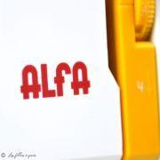 Machine à coudre PRACTIK 5 - ALFA ALFA ® - Machines à coudre, à broder, à recouvrir et à surjeter - 17