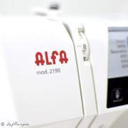 Machine à coudre électronique ALPHA 2190 - ALFA ALFA ® - Machines à coudre, à broder, à recouvrir et à surjeter - 35
