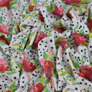 "Tissu jersey motif pois et fleurs ""Bloomsbury"" de Bari J - Blanc - Oekotex - AGF ® Art Gallery Fabrics ® - Tissus - 3"