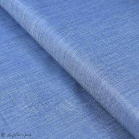 "Tissu coton denim ""Denim Prints"" - Oekotex ® - AGF ® Art Gallery Fabrics ® - 6"