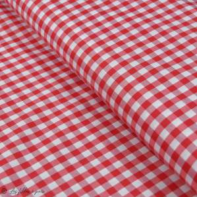 "Tissu polycoton motif petits carreaux ""Vichy""- Oeko-Tex ® Autres marques - 4"